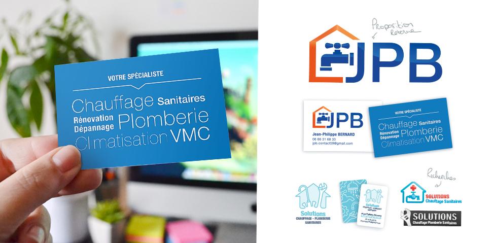 Logo Et Cartes De Visite JPB