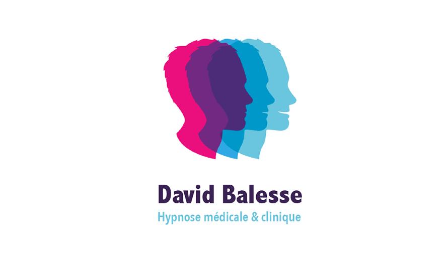 Logo David Balesse Hypnose Medicale Et Clinique Cartes De Visite