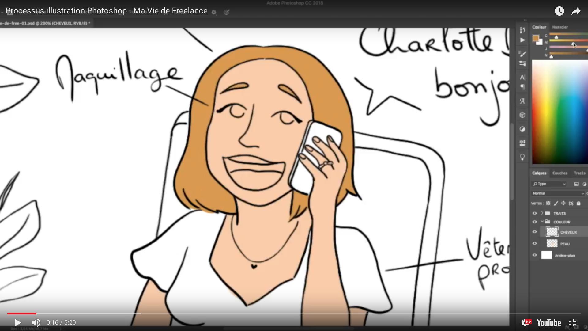 Preview Ma vie de freelance illustrée