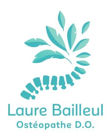 Logo Laure Bailleul, ostéopathe D.O.