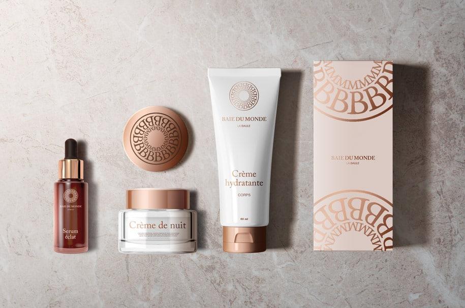 Packaging cosmétiques de luxe