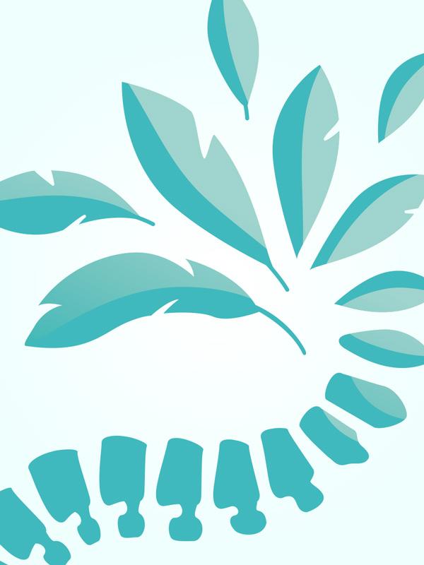 Logo et de cartes de visite ostéopathe