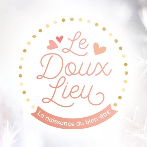 Logo Le Doux Lieu, massages bébé