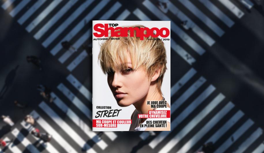 Création du magazine Top Shampoo / Collection Automne-Hiver 2018-2019
