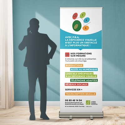Roll-up 80x200 FBA