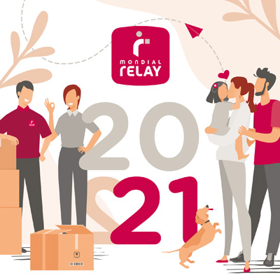Calendriers Mondial Relay 2021